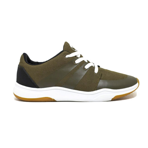 Chaussure vert olive homme